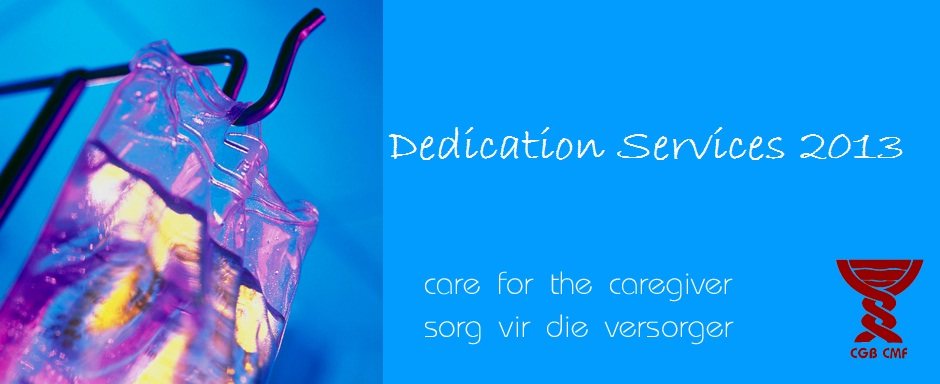 You're invited to the CMF dedication services