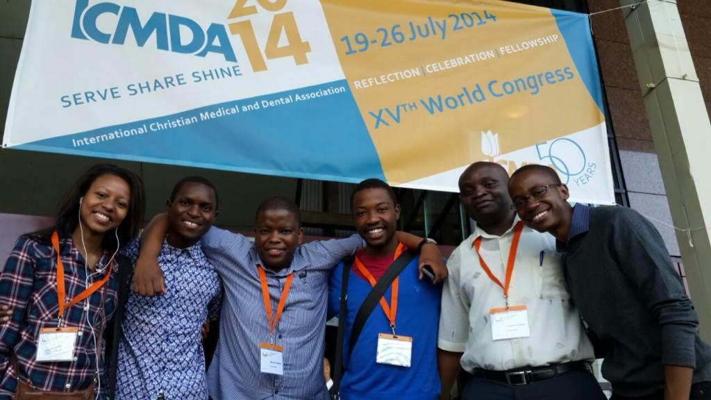 SA delegates at ICMDA 2014